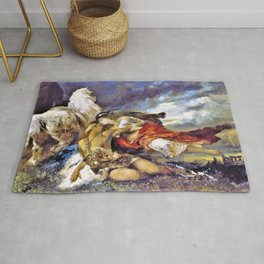 Valkyrie and a Dying Hero - Digital Remastered Edition Rug