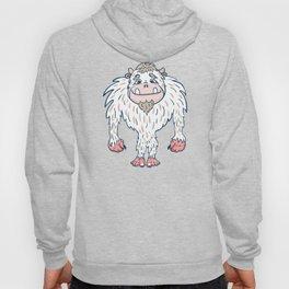 Cartoon Abominable Snowman Hoody