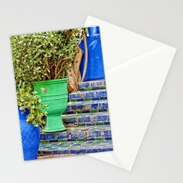Morocco in blue-green Stationery Cards