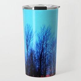 Sunset Blue Travel Mug