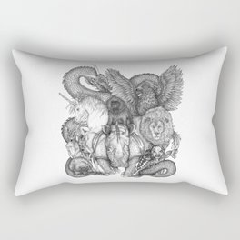 The Impossible Menagerie Rectangular Pillow