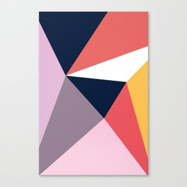 Modern Poetic Geometry Canvas Print