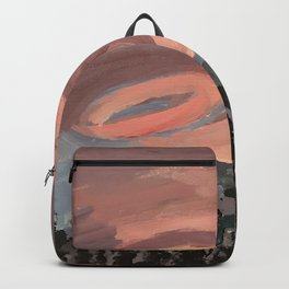 cotton candy blows Backpack