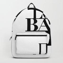 Live love bake Backpack