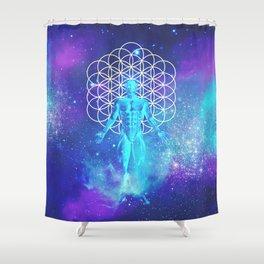 Sacred Geometry (Illumination) Shower Curtain