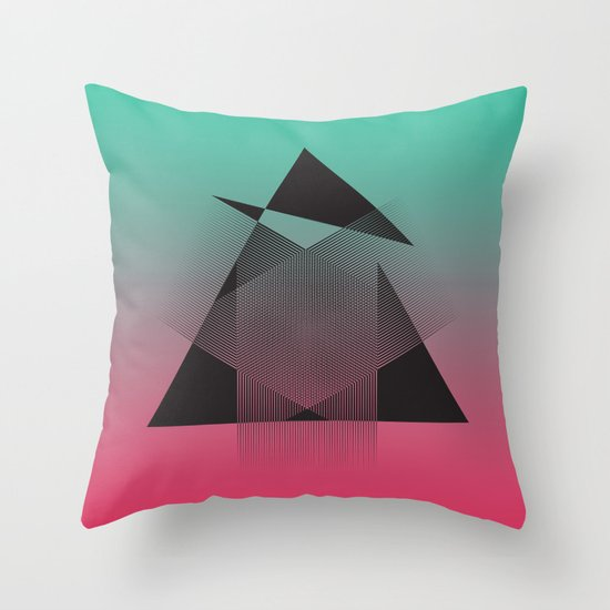 Imperftcion Throw Pillow