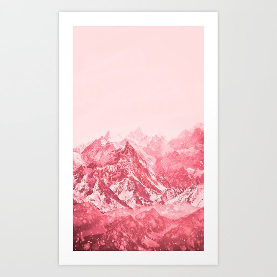 Mountains Red by ginacollins