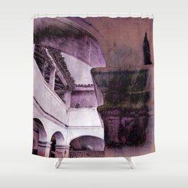 inception violet Shower Curtain