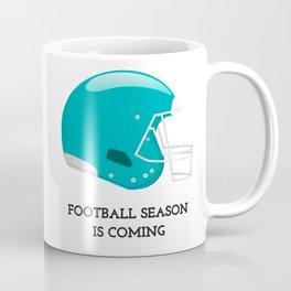 The Football Season Coffee Mug