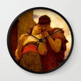 "Frederic Leighton ""Wedded"" Wall Clock"