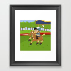 Non Olympic Sports: Polo Framed Art Print