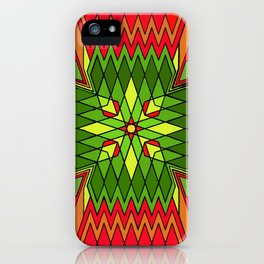 Poinsettia Flower iPhone Case