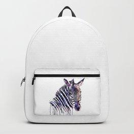 Zebra Head Backpack