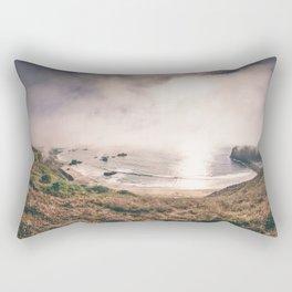 The (Sonoma) Beach - Goat Rock. Rectangular Pillow