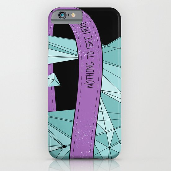 Nothing To See Here (B). iPhone & iPod Case