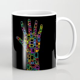 Mobile Phones Hand Coffee Mug