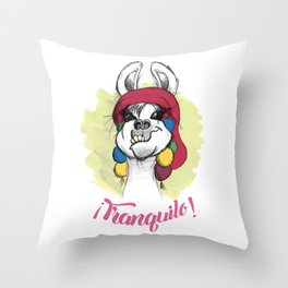 Tranquilo Throw Pillow