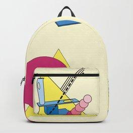 The Shape Haus: a Contemporary Bauhaus Composition Backpack
