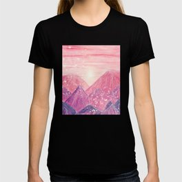 Lines in the mountains XXI T-shirt