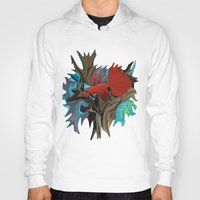 band Hoodies featuring Betta's Band by Distortion Art