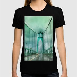 St John's Bridge Portland Oregon T-shirt
