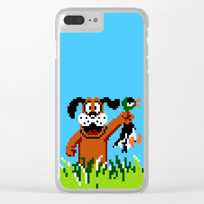 Duck Hunt Clear iPhone Case