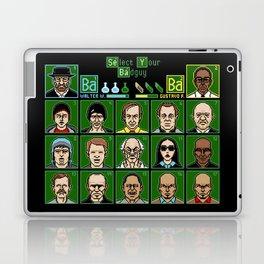 8 Bit Bad Guys Laptop & iPad Skin
