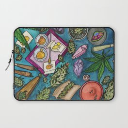 Cannabis Altar II Laptop Sleeve