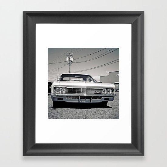 Chevy classic Framed Art Print