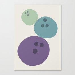 Abstract No.15 Bowling Balls Canvas Print