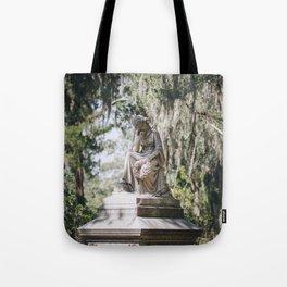Bonaventure Cemetery - Statue of Eliza Wilhelmina Theus III Tote Bag