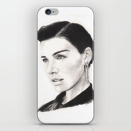jessica paré...  mrs. draper comes to town. iPhone Skin