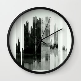 Absraction Wall Clock