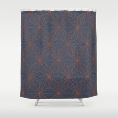Cuben Wavey Shower Curtain