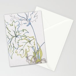 big leaf philodendron Stationery Cards