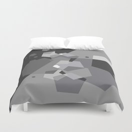 Grayish - Abstract #society6 #decor #buyart Duvet Cover