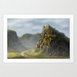Castle Moat Art Print