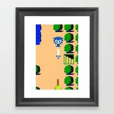 Minion's Last Rites: Zelda's Octorok Framed Art Print