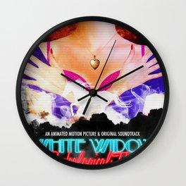 White Widow: A Psychological Thriller Wall Clock