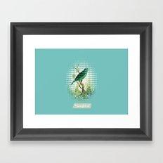 Songbird {Jade} Framed Art Print