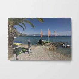 Ipsos beach Metal Print