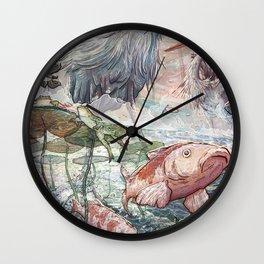At the River Bend Wall Clock
