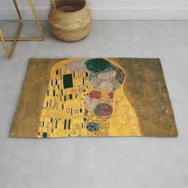 """Gustav Klimt, """" The Kiss """" Rug"""