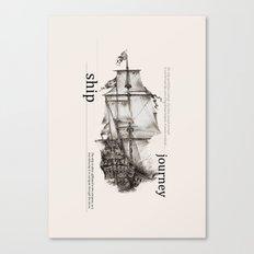Ship Canvas Print