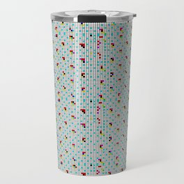 Dotted Colors Travel Mug