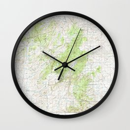 WY Laramie Peak 342349 1981 topographic map Wall Clock