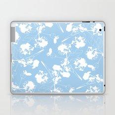 Hydranga pattern  - blue and white Laptop & iPad Skin