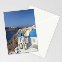 Santorini, Oia Village, Greece Stationery Cards