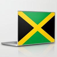 jamaica Laptop & iPad Skins featuring Jamaica by RickART