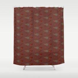 Herb Pattern Shower Curtain